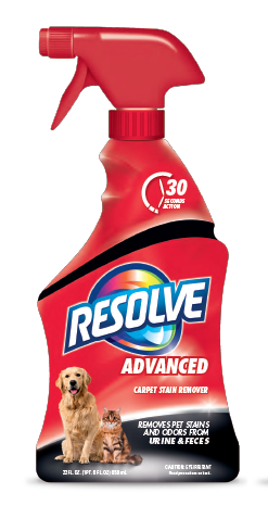 RESOLVE Pet Advanced Carpet Stain Remover Photo